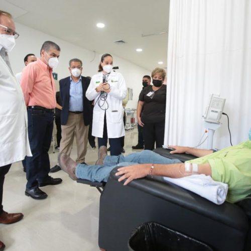 005 INAUGURA MARS CENTRO ONCOLÓGICO 'SALVADOR CHAVARRÍA'-UN GRAN LOGRO DE COAHUILA